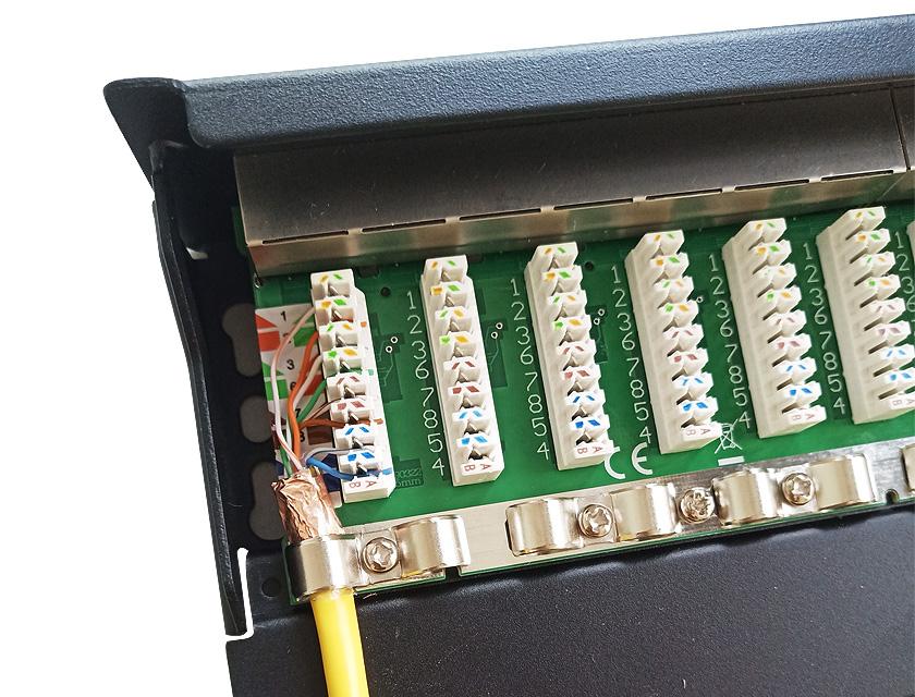 卡接式网络配线架